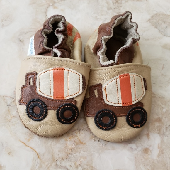 Construction Truck Leather Baby